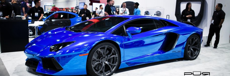 Sema Review Lamborghini Aventador Display Pur Wheels And