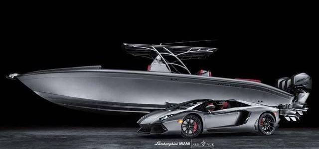 Matching Aventador and boat
