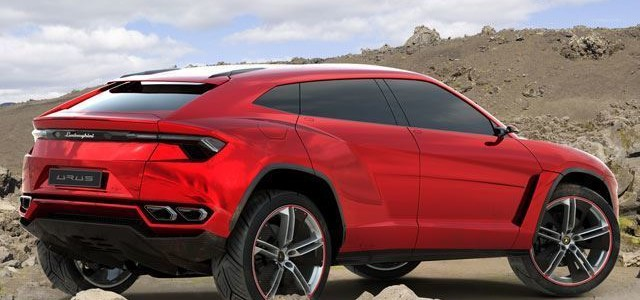 Urus Red Turbocharged
